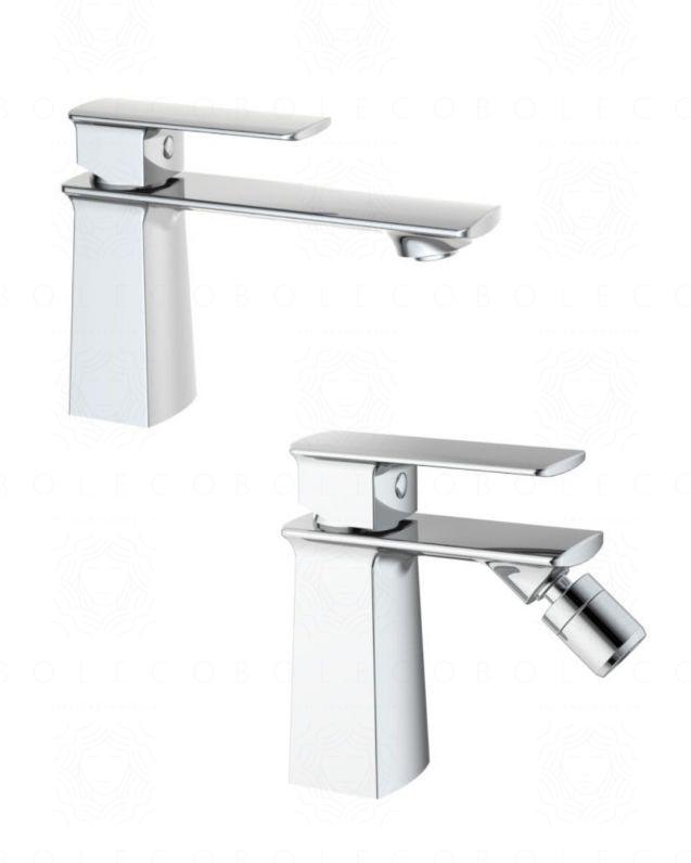 Coppia rubinetti lavabo-bidet Nausica