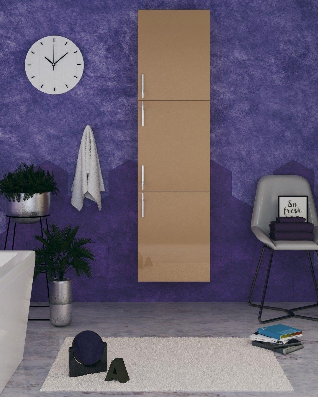 Colonna bagno cappuccino cm.45x170