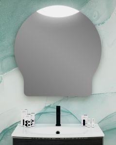 Specchio led di design, cm.80x83