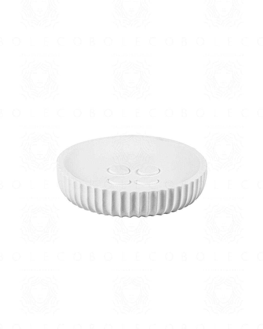 Porta sapone Plisse cm. 11,5x2,5
