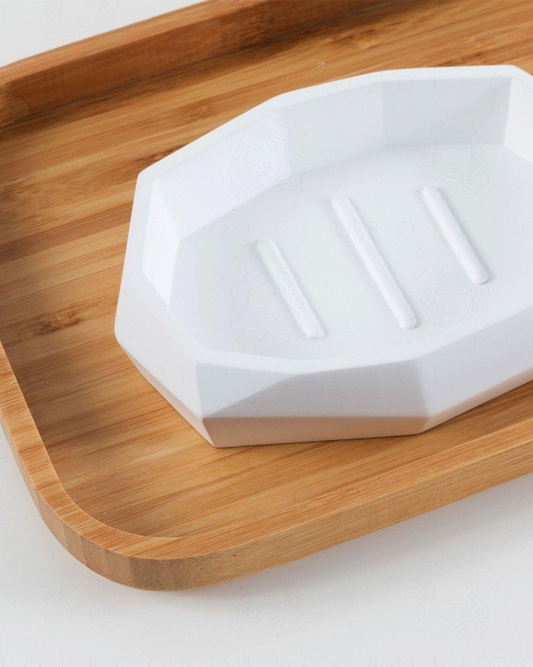 Porta sapone Surface Bamboo cm.12,5x9,3