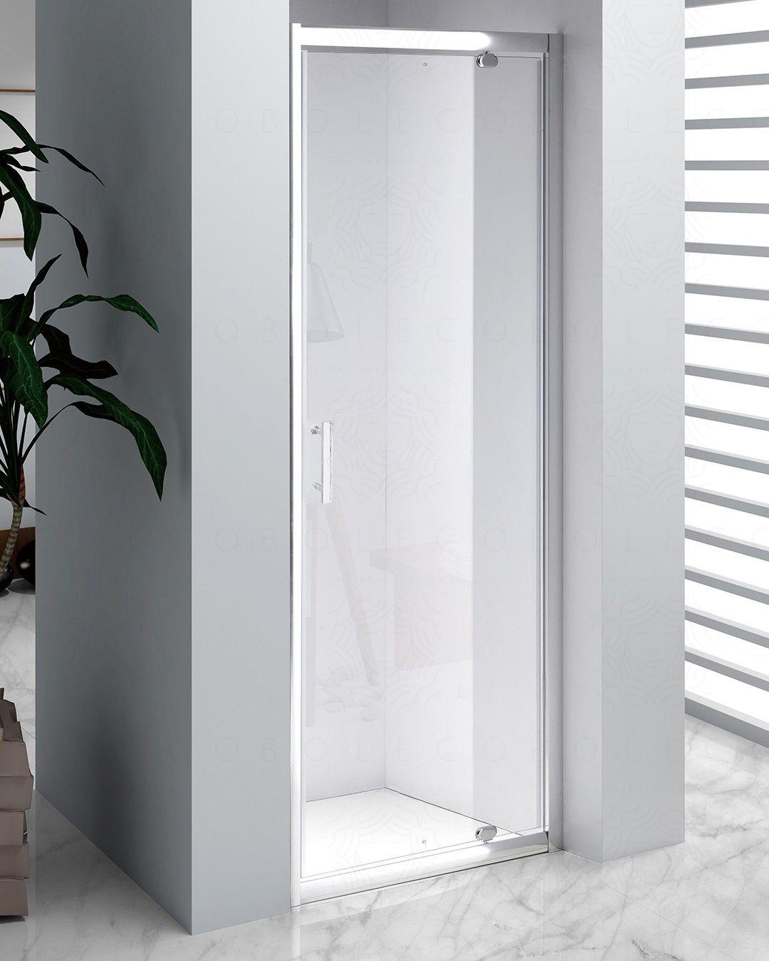 Box doccia nicchia vetro temperato 6 mm, cm.70