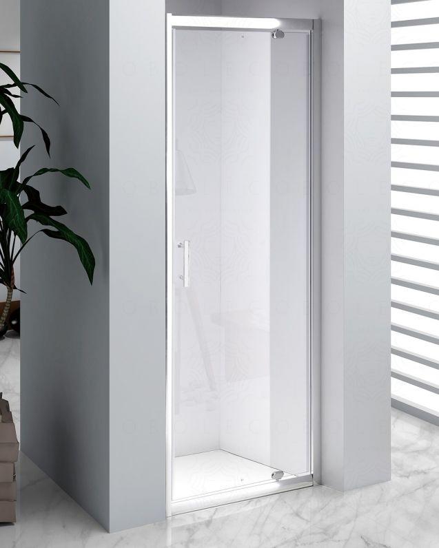 Box doccia nicchia vetro temperato 6 mm, cm.90