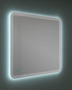 Specchio led con sensore touch e anti-appannamento, cm.100x90