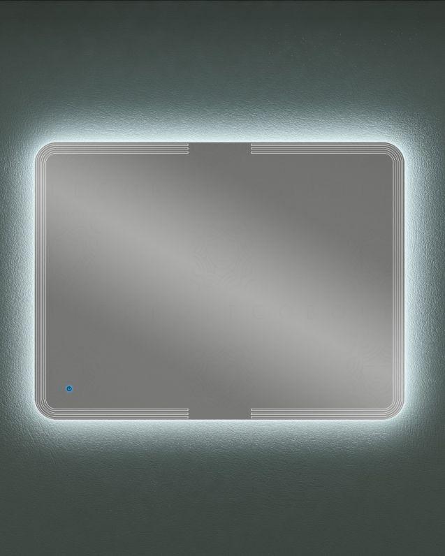 Specchio led con sensore touch e anti-appannamento, cm.120x90