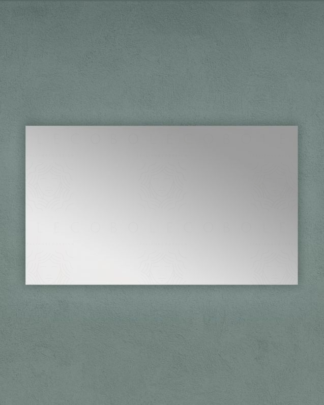 Specchio rettangolare, cm.120x70 reversibile