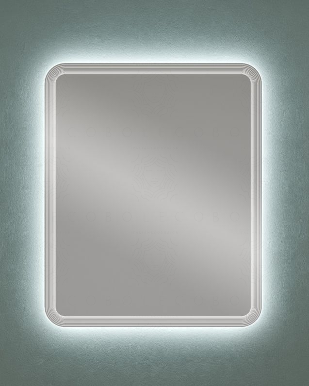 Specchio led rettangolare, cm.74x90
