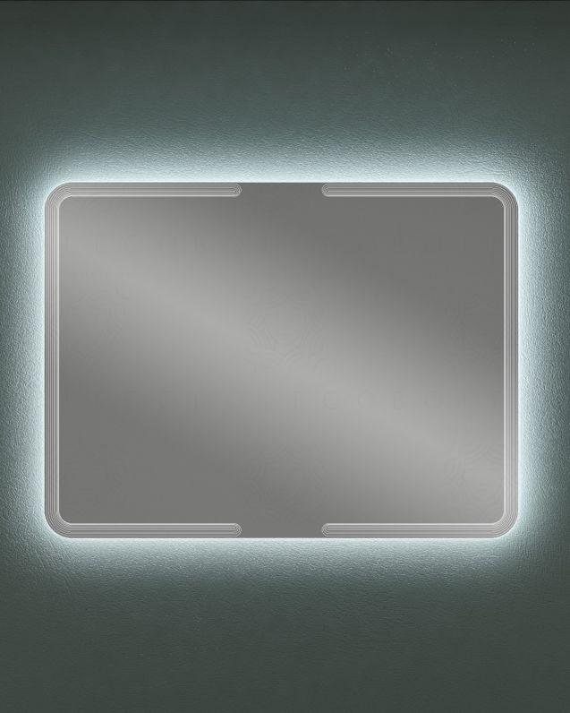 Specchio led rettangolare, cm.120x90