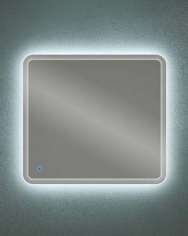 Specchio led con sensore touch, cm.100x90
