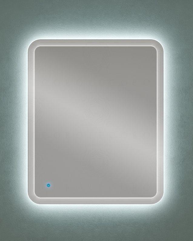 Specchio led con sensore touch, cm.74x90