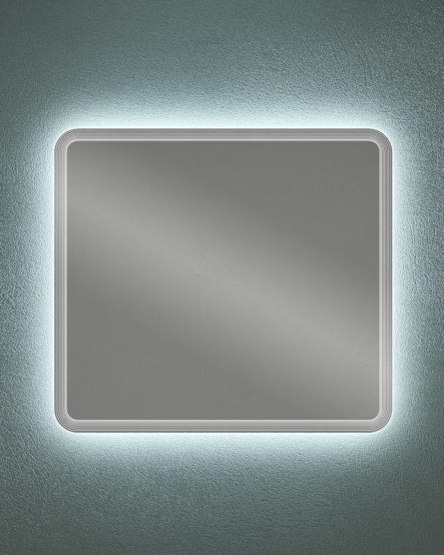 Specchio led di design, cm.100x90