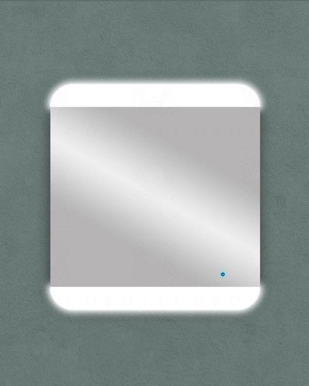 Specchio led con sensore touch, cm.65x70