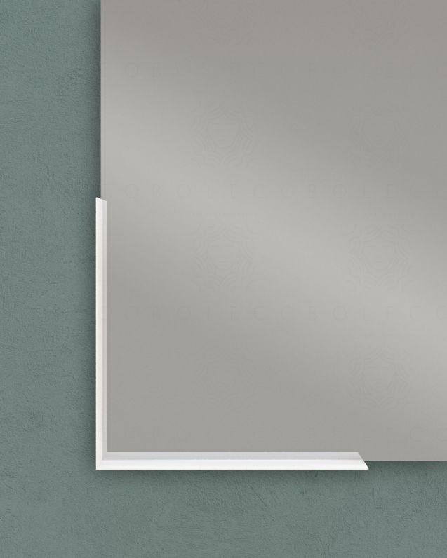 Mensola in metallo per specchio, cm.30x30