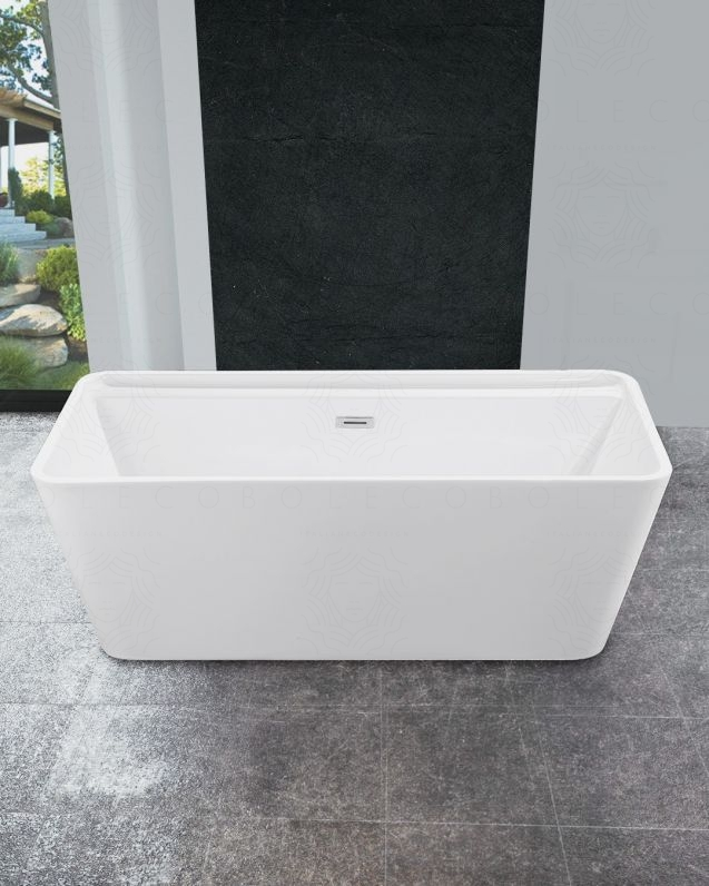 Vasca da bagno rettangolare, cm.170x80