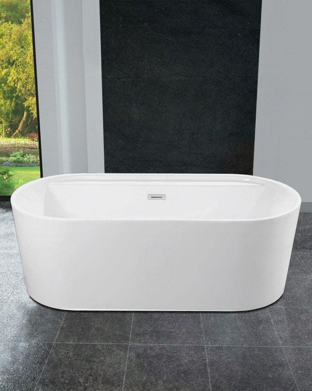 Vasca da bagno circolare, cm.170x80
