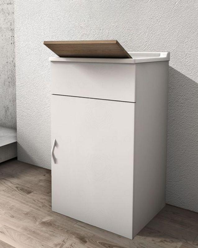 Mobile lavatoio bianco cm.45
