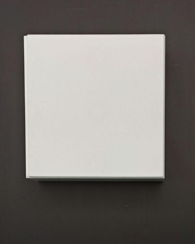 Pensile bagno bianco lucido, cm.40x40
