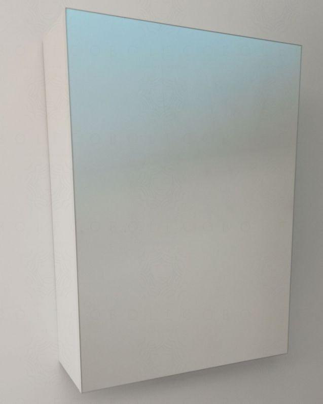 Armadietto bagno con anta specchio, cm. 45