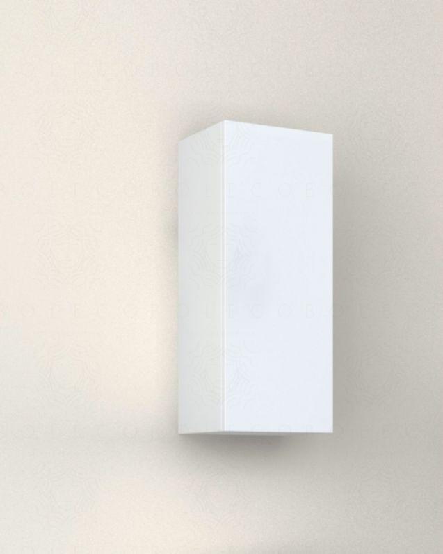 Pensile bagno bianco lucido, cm.30x74