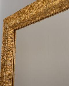 Specchio quadrato con cornice, cm.80x80