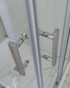 Box doccia quadrato vetro temperato 6 mm, cm.90x90