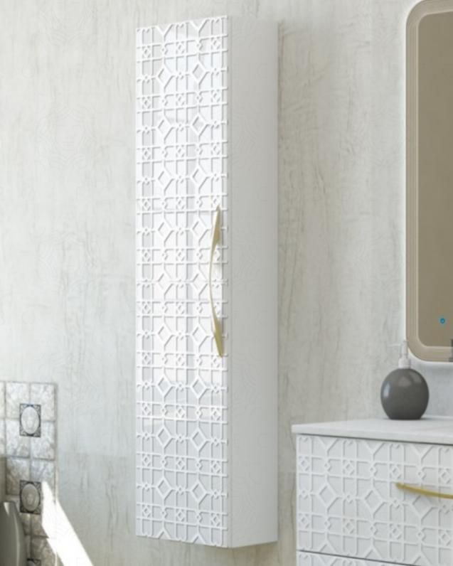 Colonna bagno sospesa Noemi cm.35x140