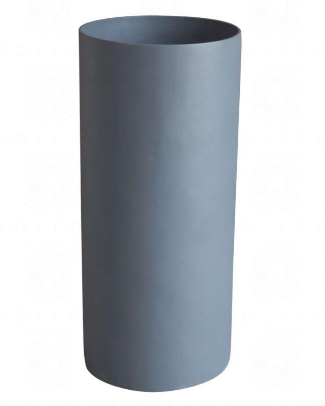 Lavabo freestanding rotondo, cm.40, grigio