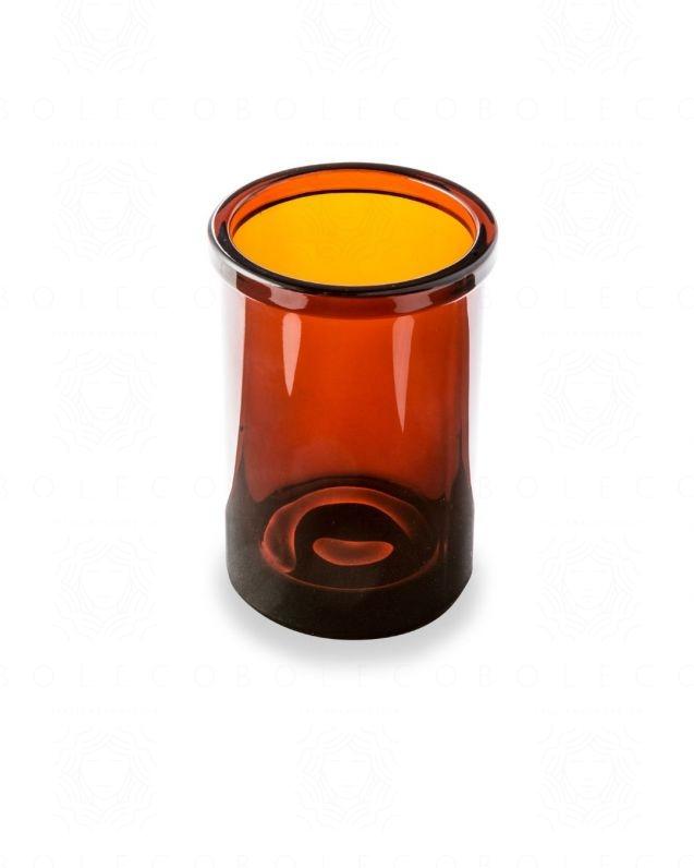 Bicchiere Pharmacy Ambra cm. 8x10