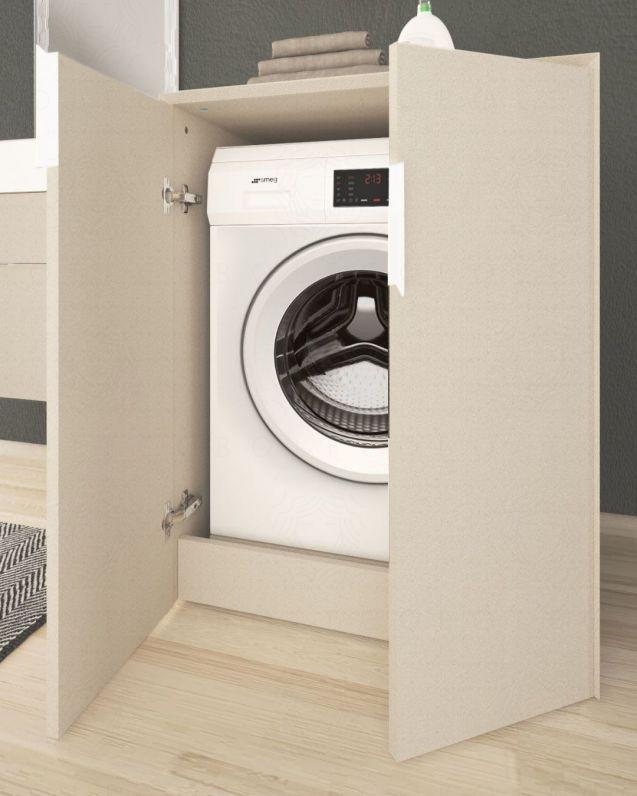 Colonna bagno porta lavatrice Diadema cm.70x93