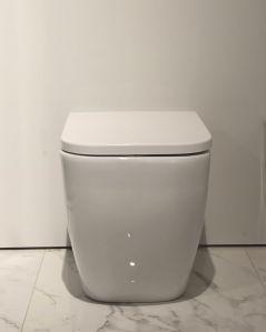 Vaso filomuro in ceramica Bianca, made in Italy
