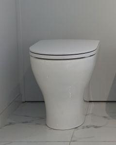 Vaso filomuro in ceramica Beat, made in Italy