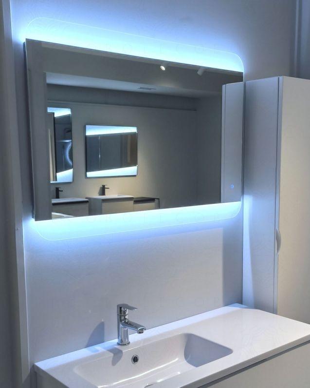 Specchio led con sensore touch, cm.100x70