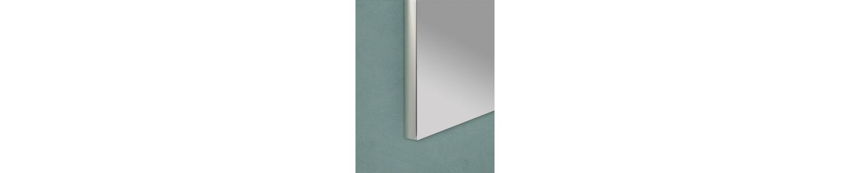 Specchiere per il bagno a filo lucido prodotte in Italia | Boleco