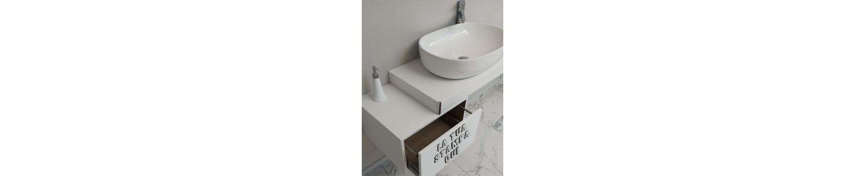 Mobili bagno con stampa personalizzata | Boleco