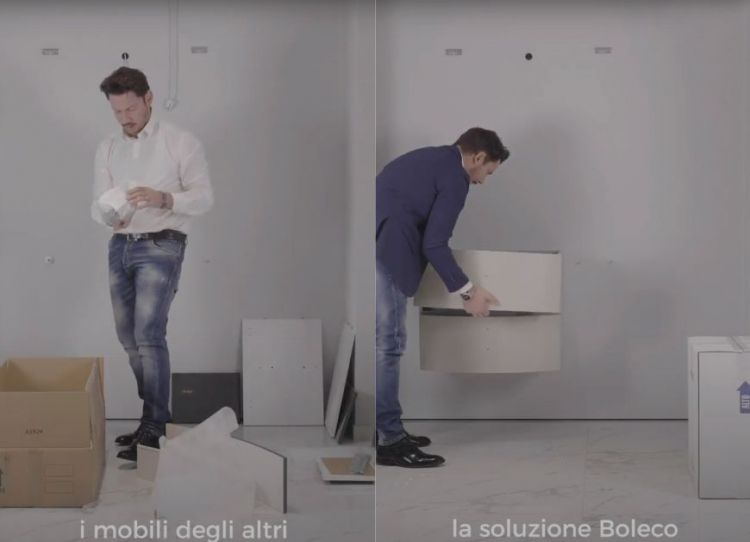 Design di qualità facile da montare. Guarda il video! | Boleco